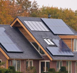 Panneaux photovoltaique sur le toit